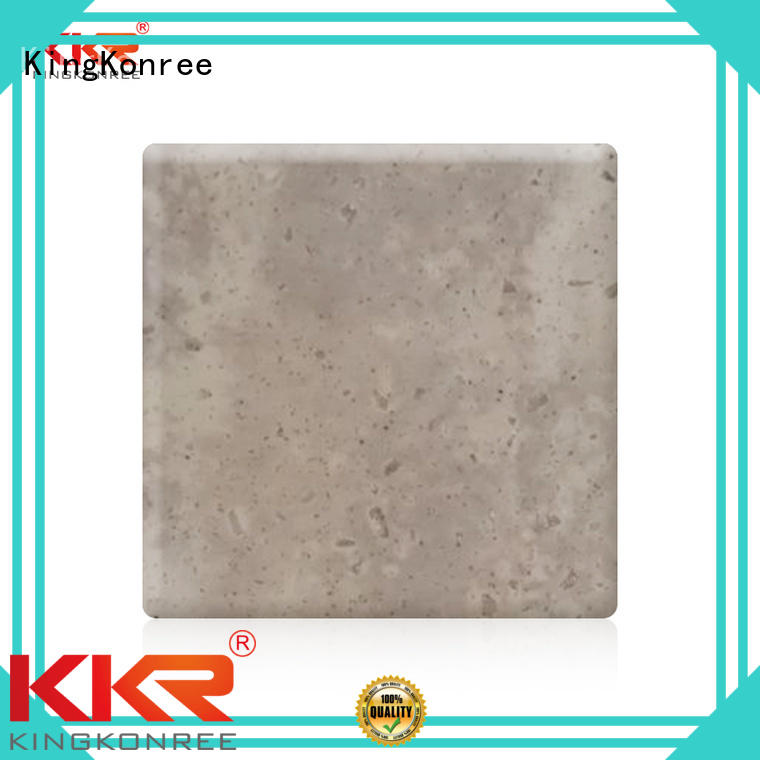 Wholesale marble solid acrylic sheet KingKonree Brand