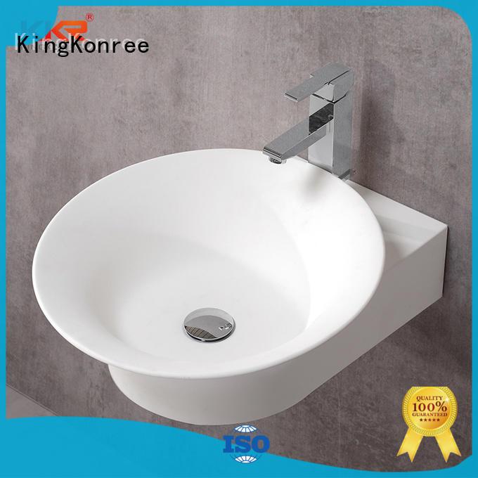 KingKonree solid surface basin top-brand for family