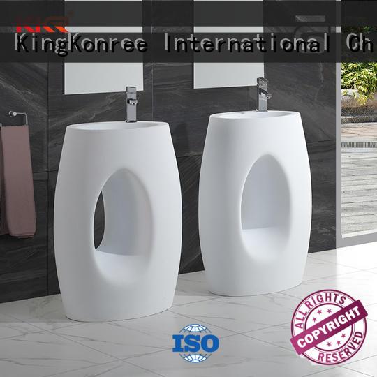 rectangle freestanding vanity basins design for home