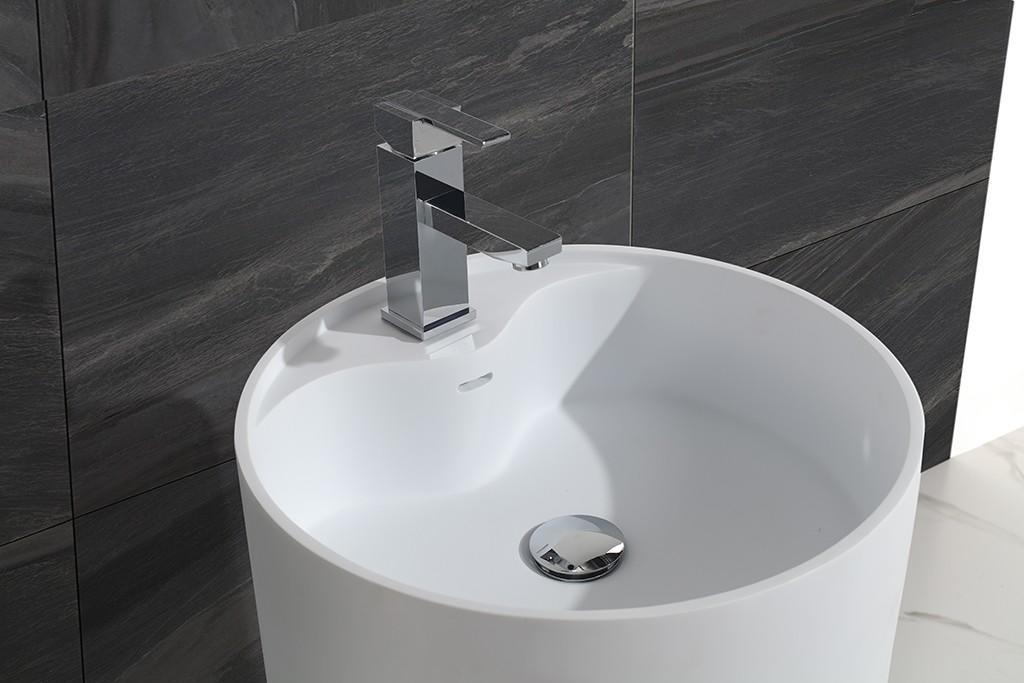 KingKonree standard free standing wash basin supplier for bathroom-2