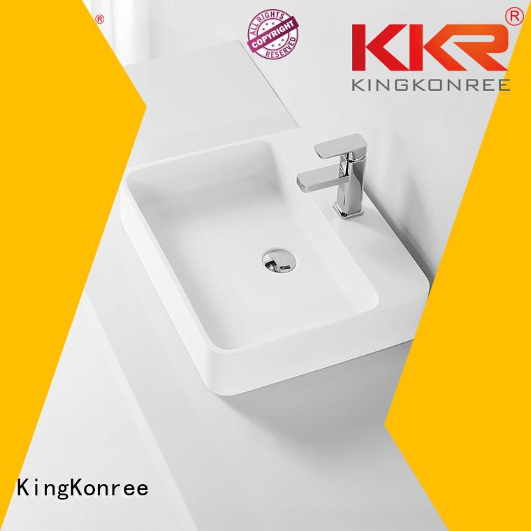 Wholesale wash oval above counter basin oval KingKonree Brand