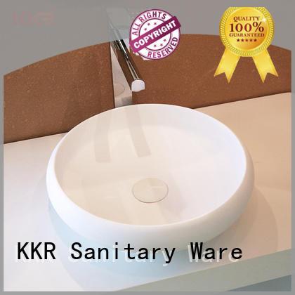 KingKonree above counter vanity basin customized for hotel
