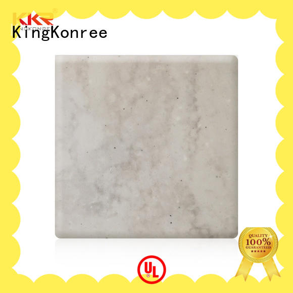 KingKonree veining acrylic solid surface customized for hotel