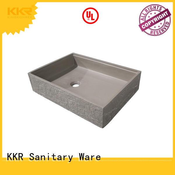 KingKonree durable small countertop basin supplier for restaurant