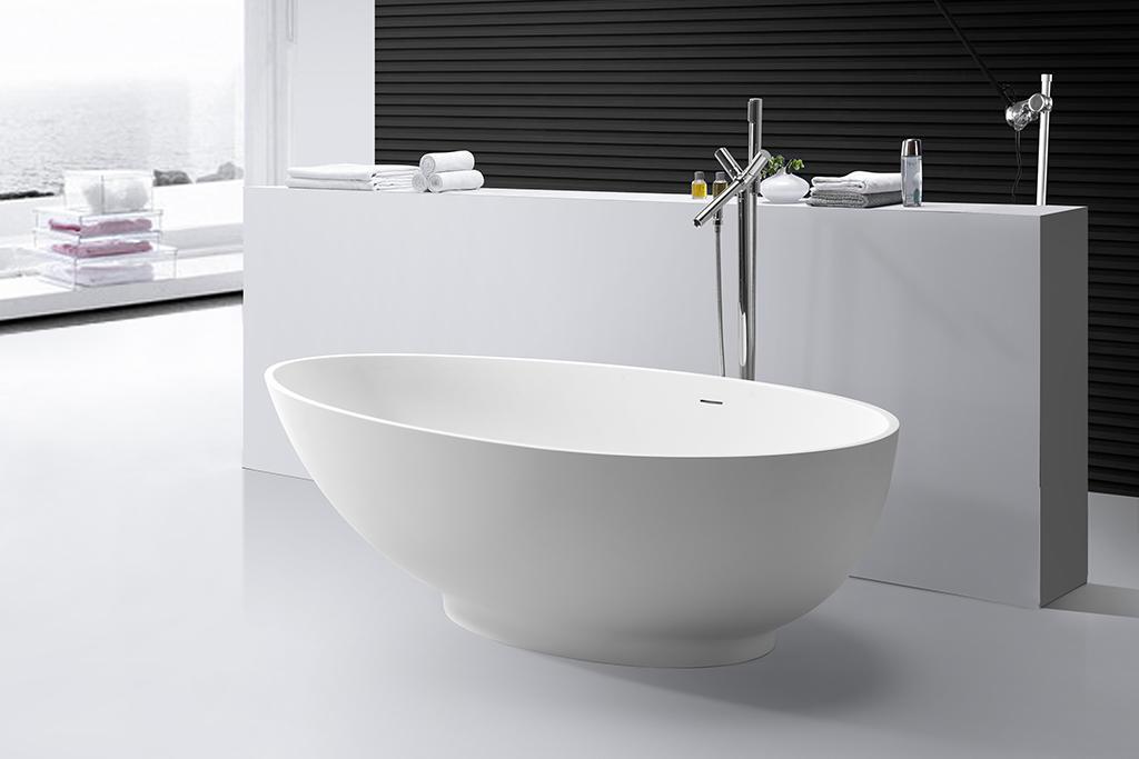 KingKonree matt free standing bath tubs for sale ODM for shower room-1