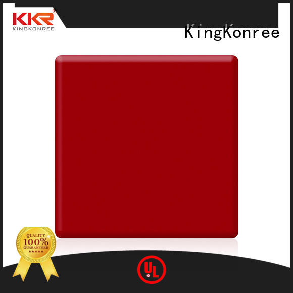 KingKonree solid surface sheets for sale customized for room