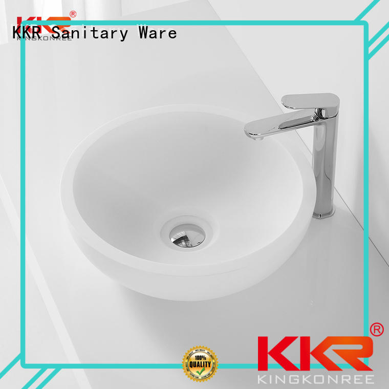 counter shape oval above counter basin selling wash KingKonree Brand