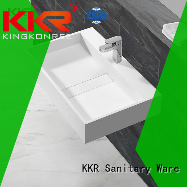 KingKonree slope stylish wash basin sink for toilet