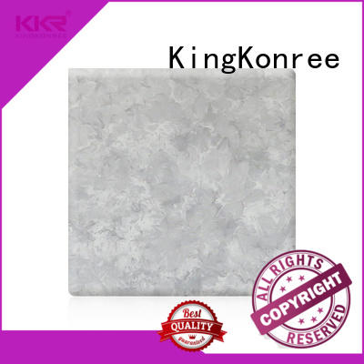 KingKonree grey solid surface sheets for sale directly sale for indoors
