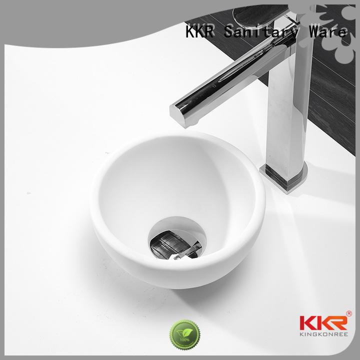 Custom wash above counter basins acyrlic KingKonree