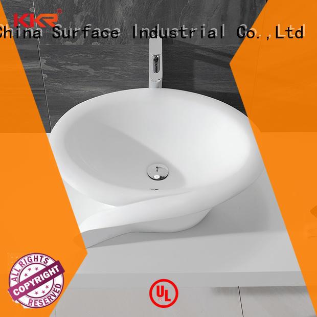 above counter square bathroom sink customized for restaurant KingKonree