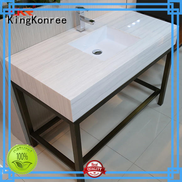 KingKonree kkrcountertop solid surface bathroom countertops customized for home