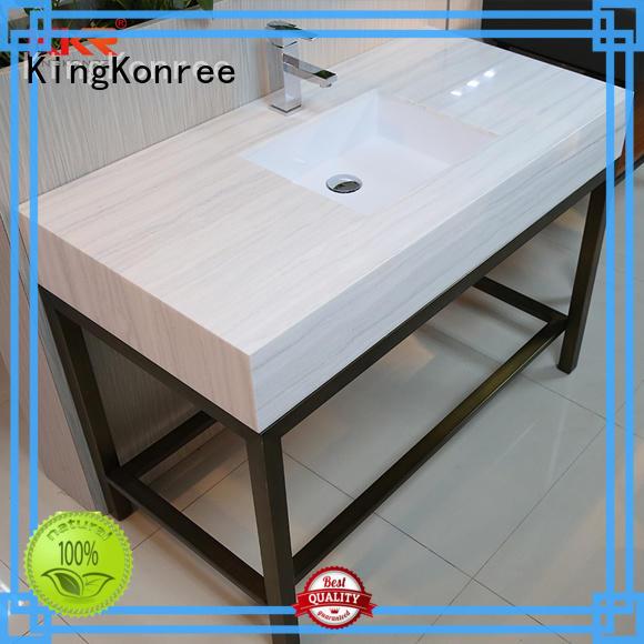 KingKonree kkrcountertop solid surface bathroom countertops customized for home