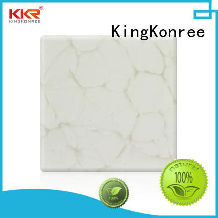 KingKonree translucent countertops under-mount for bathroom
