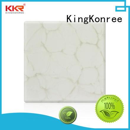 KingKonree translucent countertops under-mount for bathroom