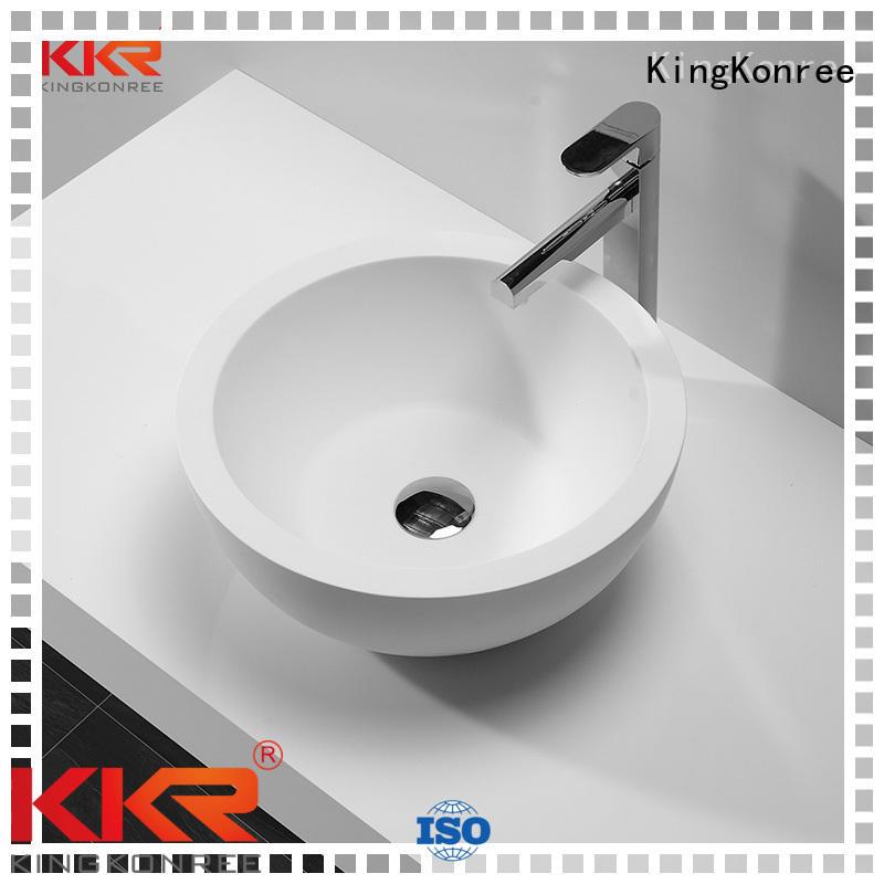 quality shape above counter basins counter oval KingKonree company