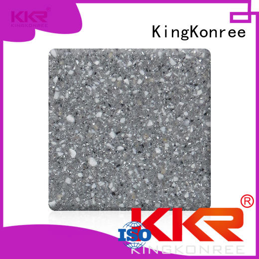KingKonree solid surface sheets for sale customized design for room