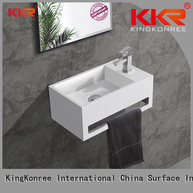 rectangle wall mounted wash basins basin KingKonree company