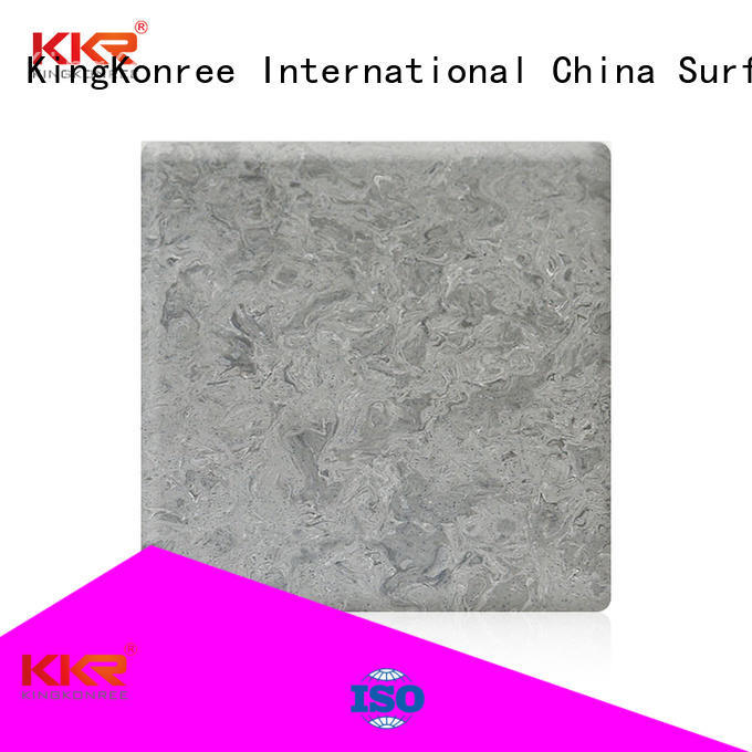 artificial pattern solid solid surface sheets KingKonree
