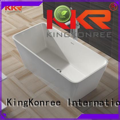 b001 ware 1800mm solid surface bathtub KingKonree Brand company