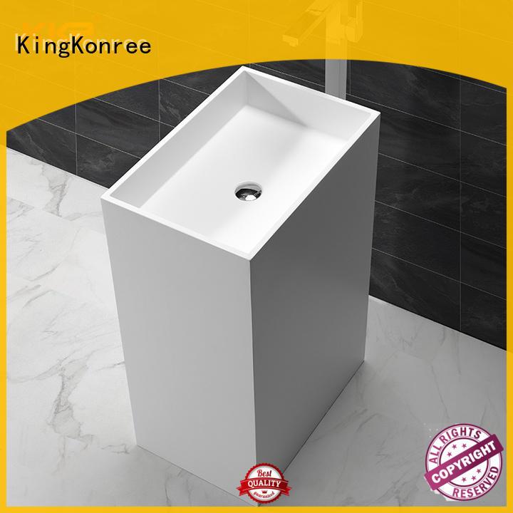 KingKonree against wall bathroom sanitary ware supplier for bathroom