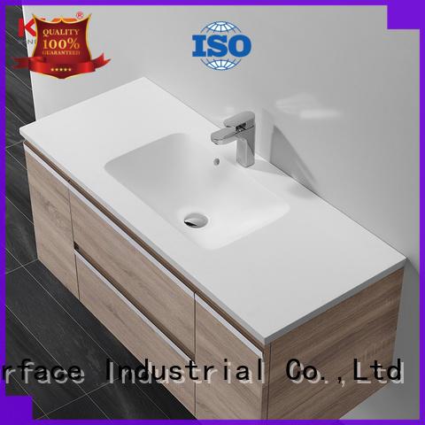 wash basin with cabinet online manufacturer for motel KingKonree