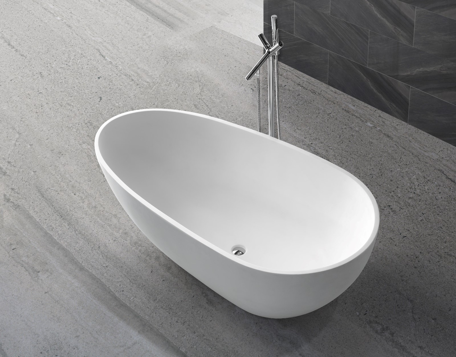 KingKonree acrylic freestanding bathtub ODM for hotel-1