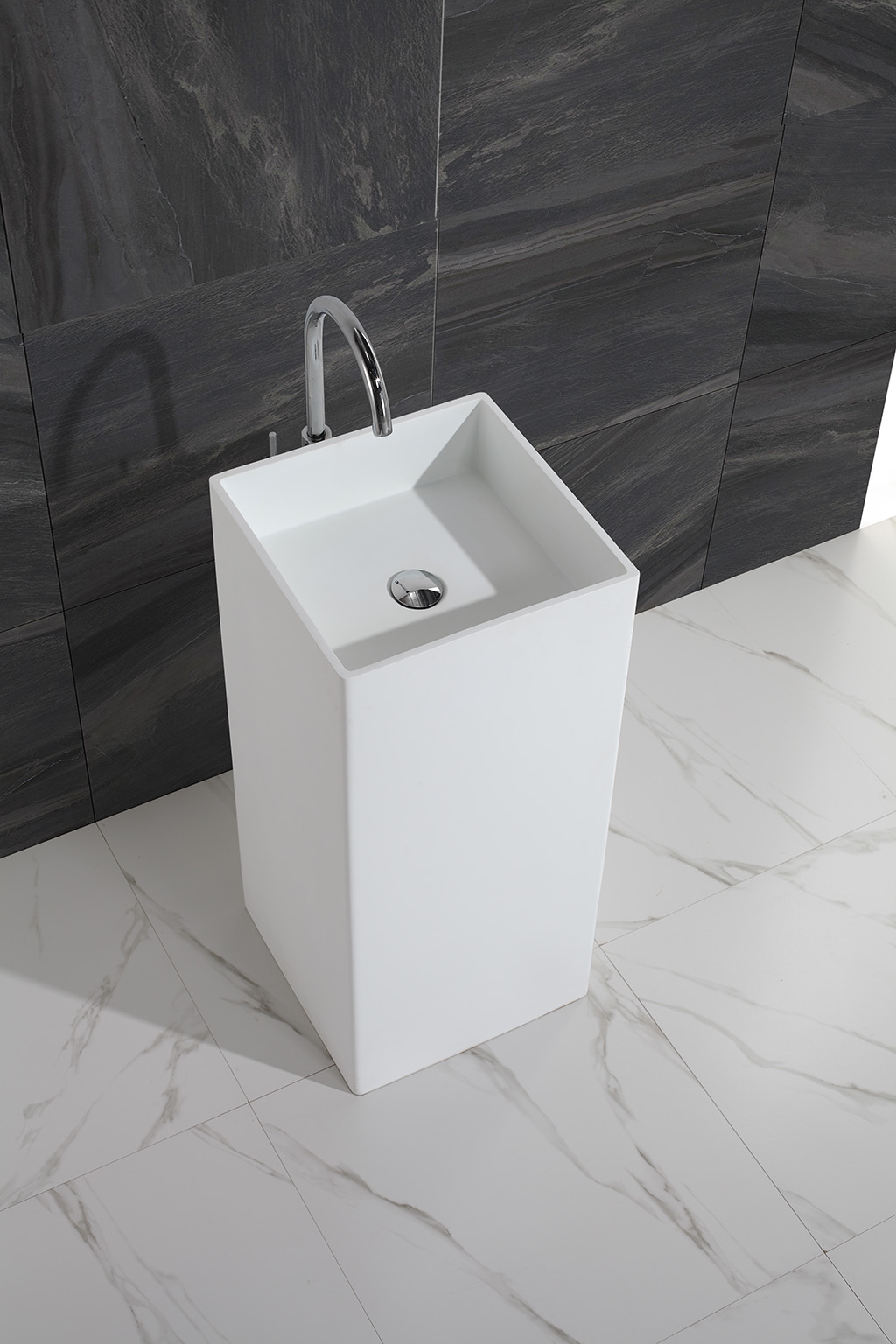 KingKonree professional free standing wash basin customized for home-1