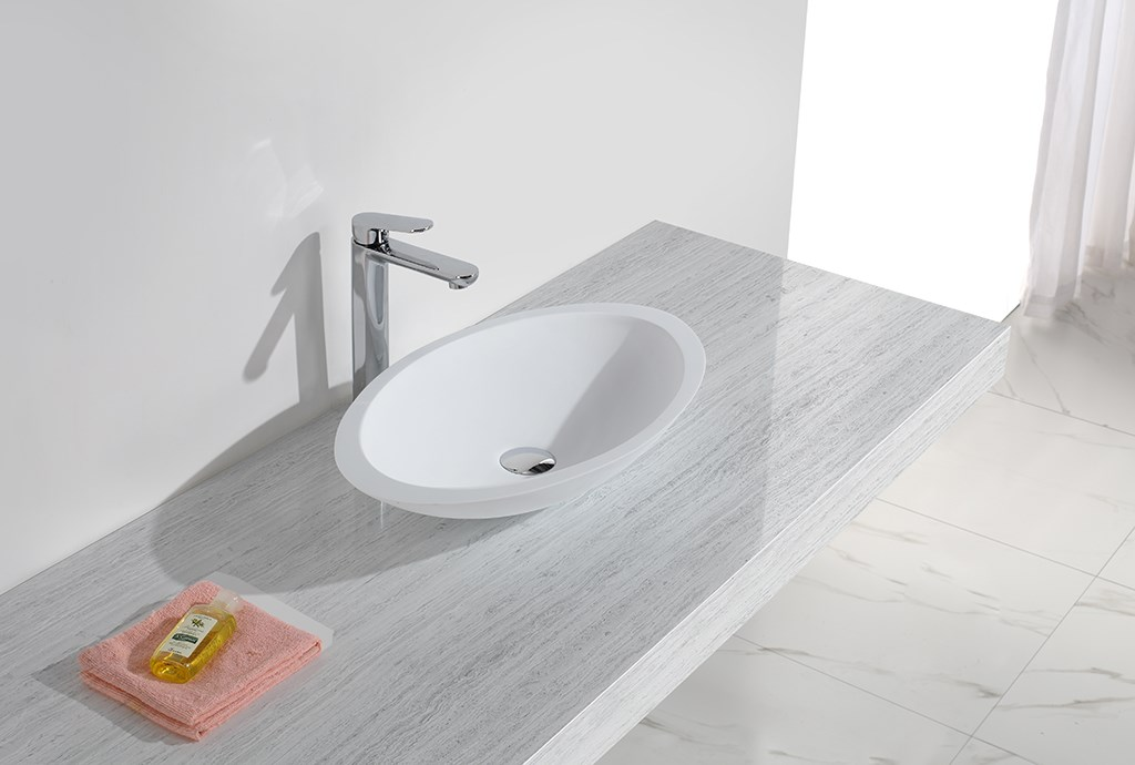 standard above counter vessel sink at discount for hotel-1