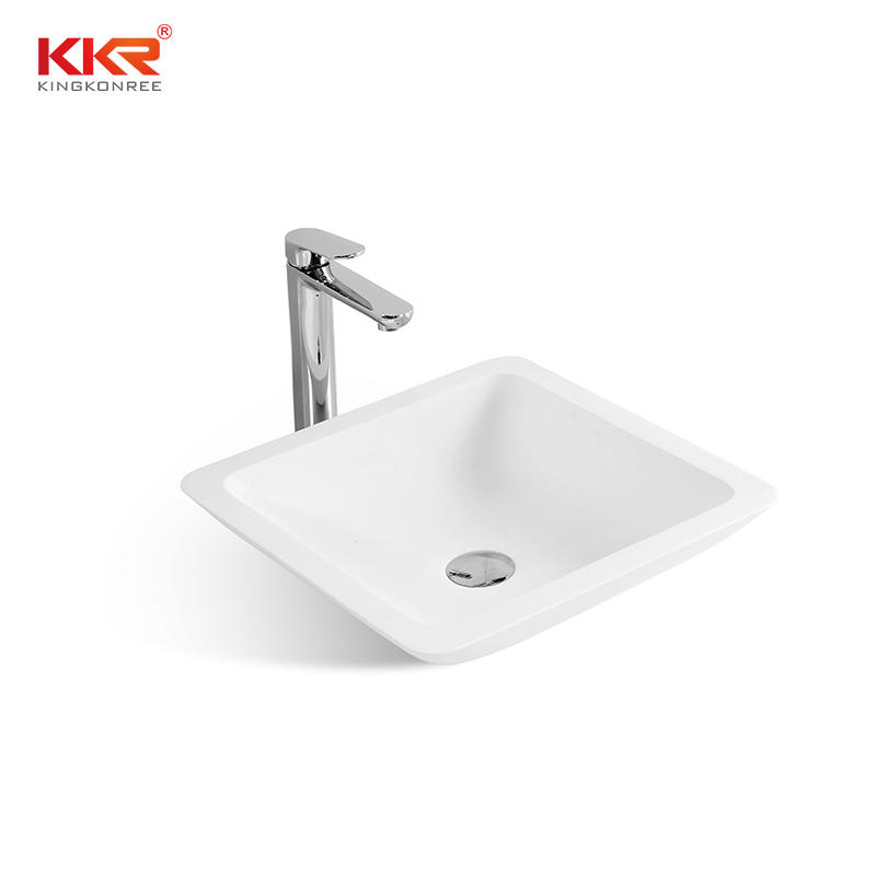 Hot selling good quality bathroom solid surface wash basin KKR-1320