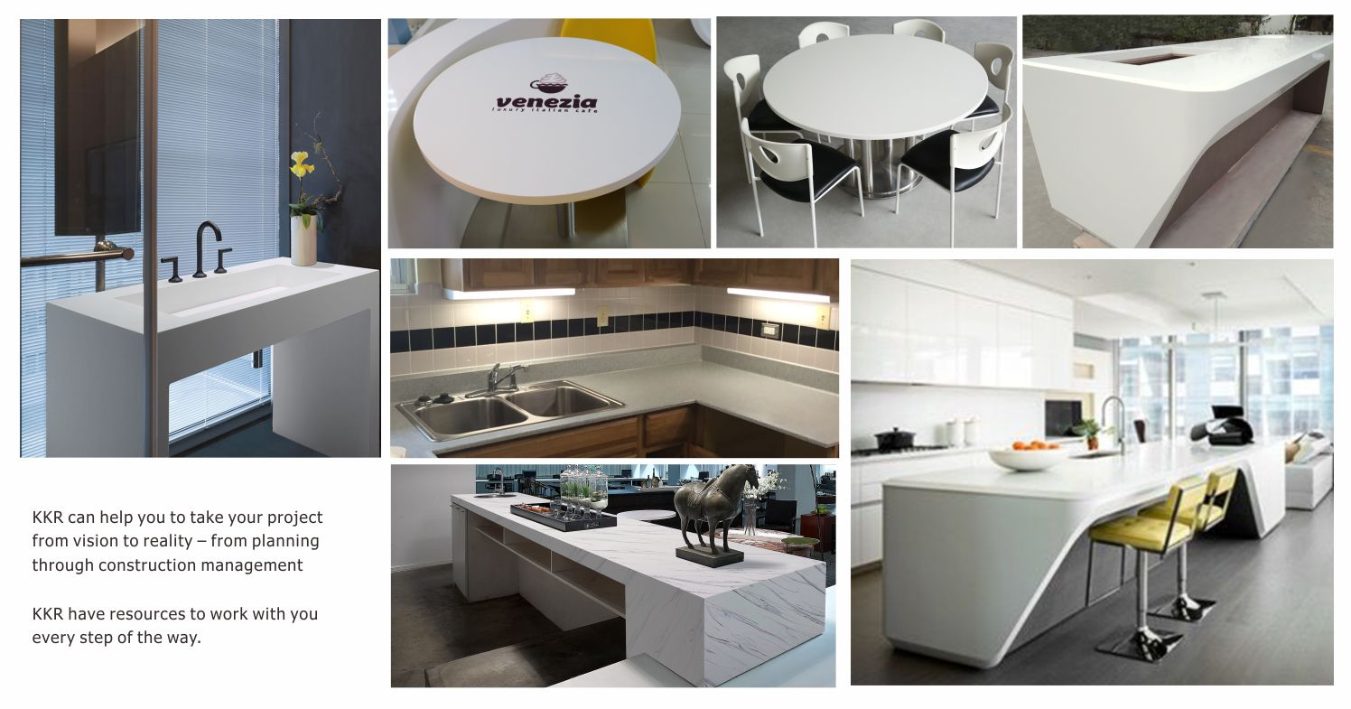 KingKonree acrylic solid surface manufacturer for restaurant-18