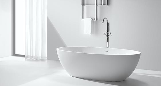 KingKonree large freestanding bath free design for bathroom-1