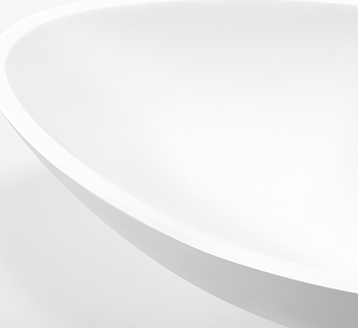 High Quality Above Counter Acrylic Solid Surface Basin With Competitive Price KKR-1321-3