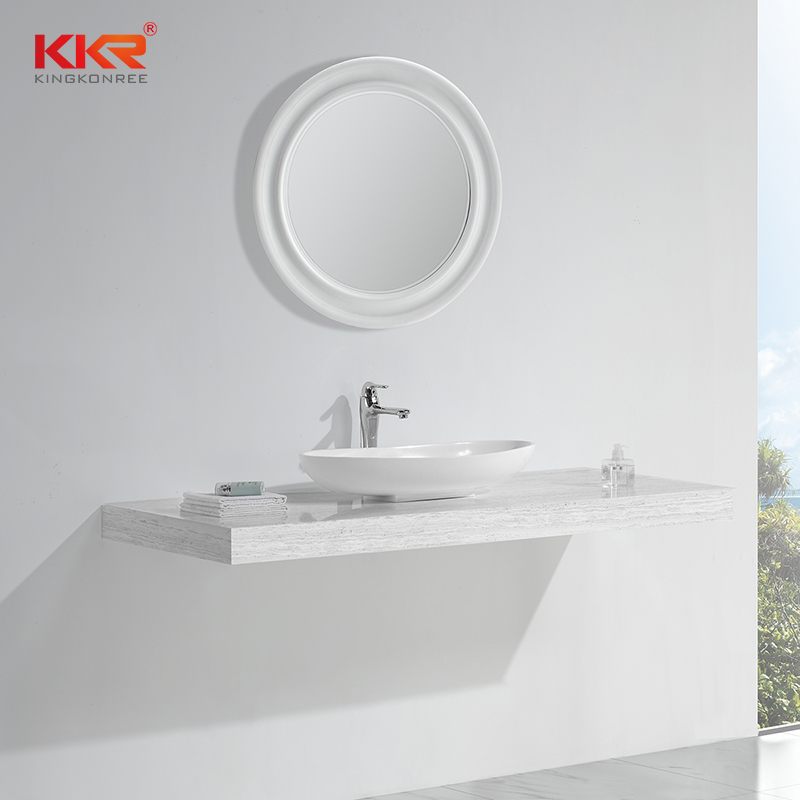 KingKonree Solid Surface Countertop Basin KKR-1302 Above Counter Basin image3