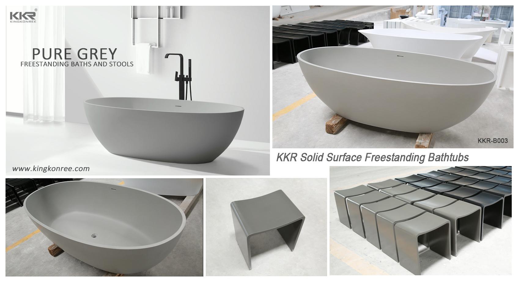 KingKonree large freestanding bath free design for bathroom-11