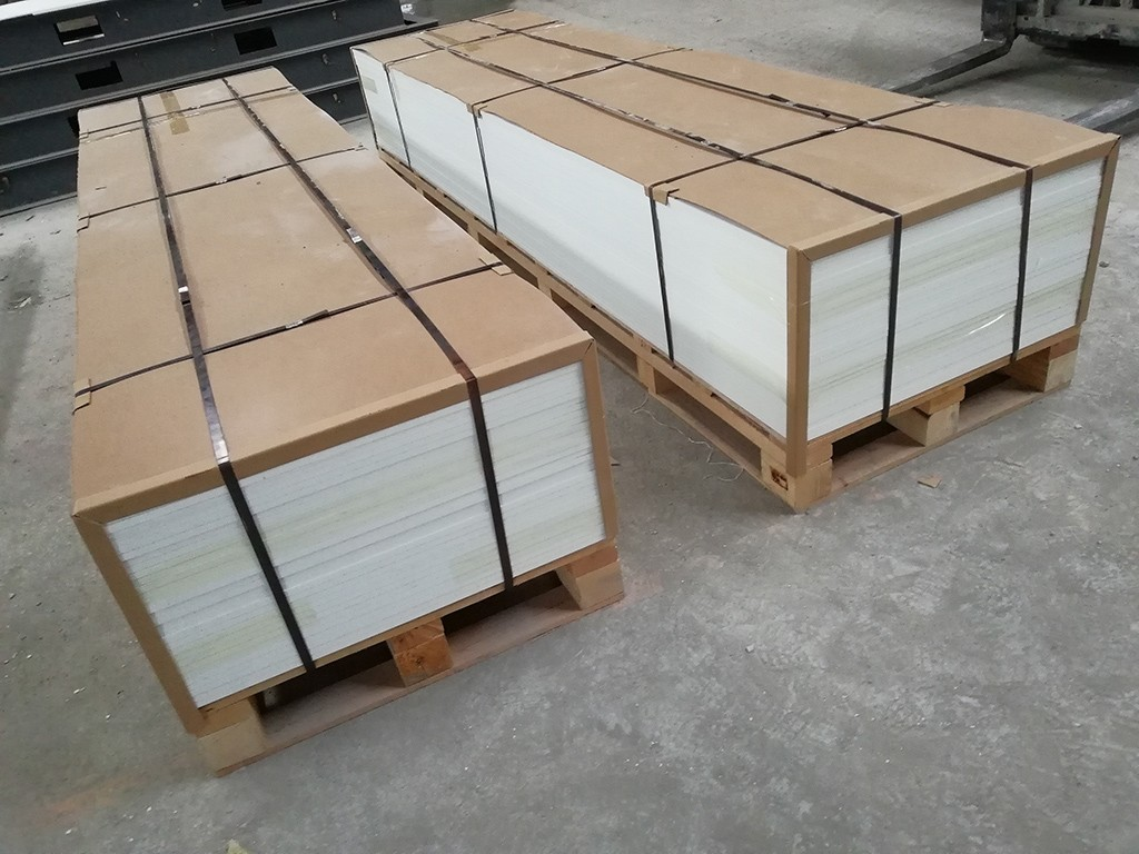 Pure White Modified Acrylic Solid Surface Sheet KKR-M1700-11