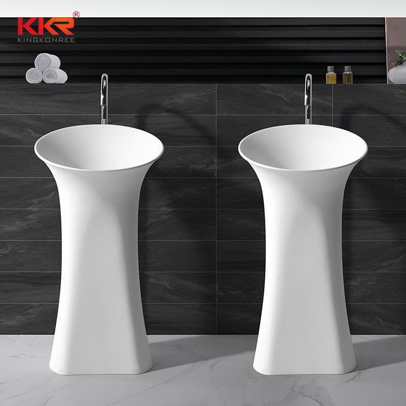 Best Solid Surface Modern Bathroom Freestanding Wash Basin ...