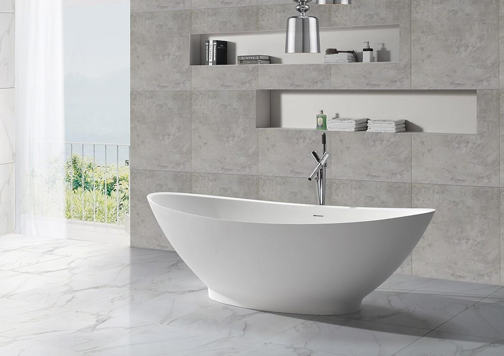 Solid Surface Freestanding Bathtub solid b006 KingKonree Brand company