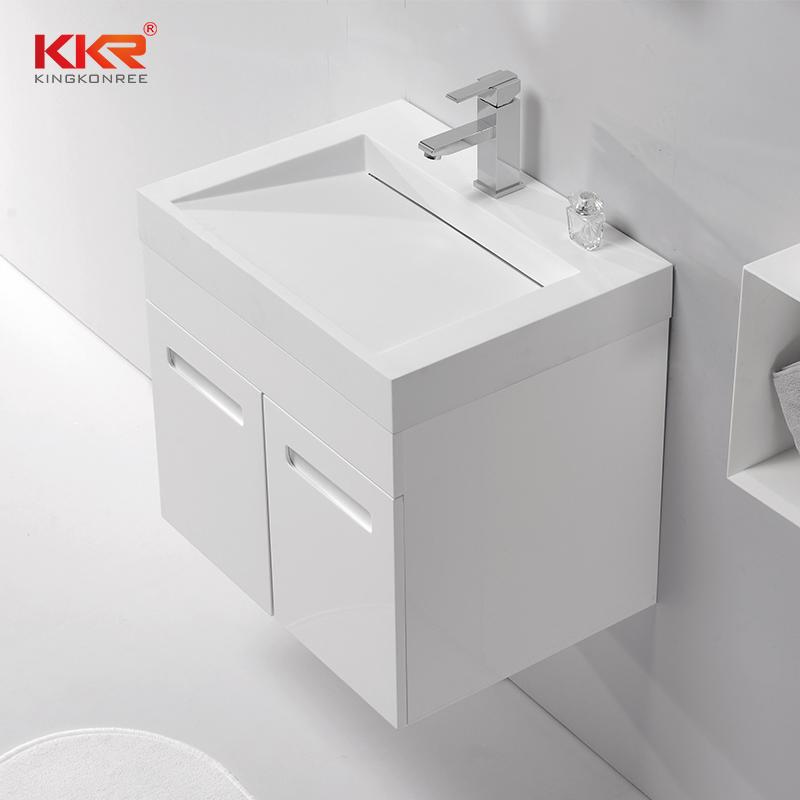 Mueble de baño de madera de diseño real para vender KKR-750CH