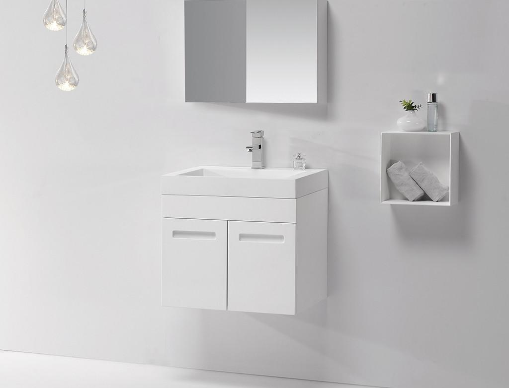 solid slope cloakroom basin with cabine royal KingKonree