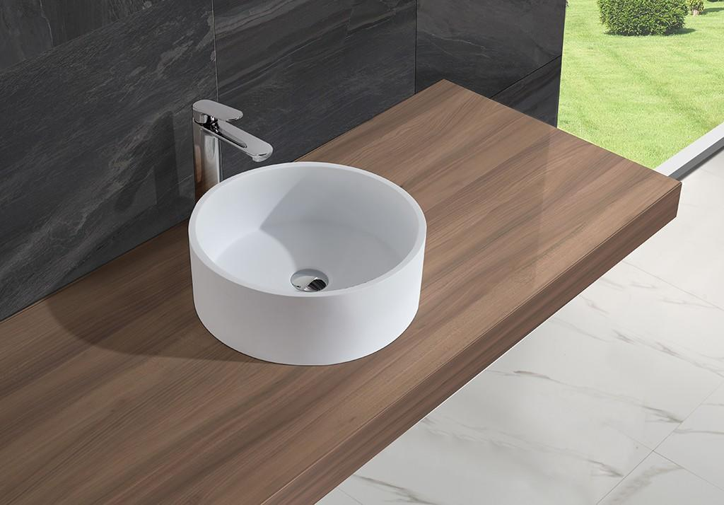 oval above counter basin acyrlic Bulk Buy surface KingKonree