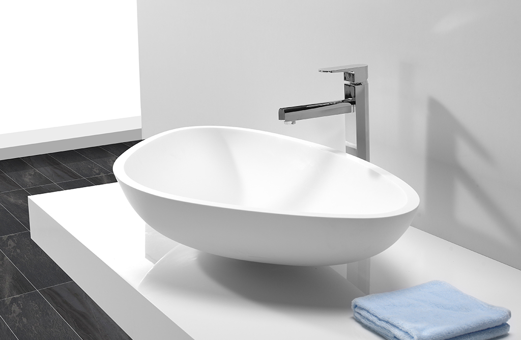 sanitary ware above counter vanity basin design for restaurant-1