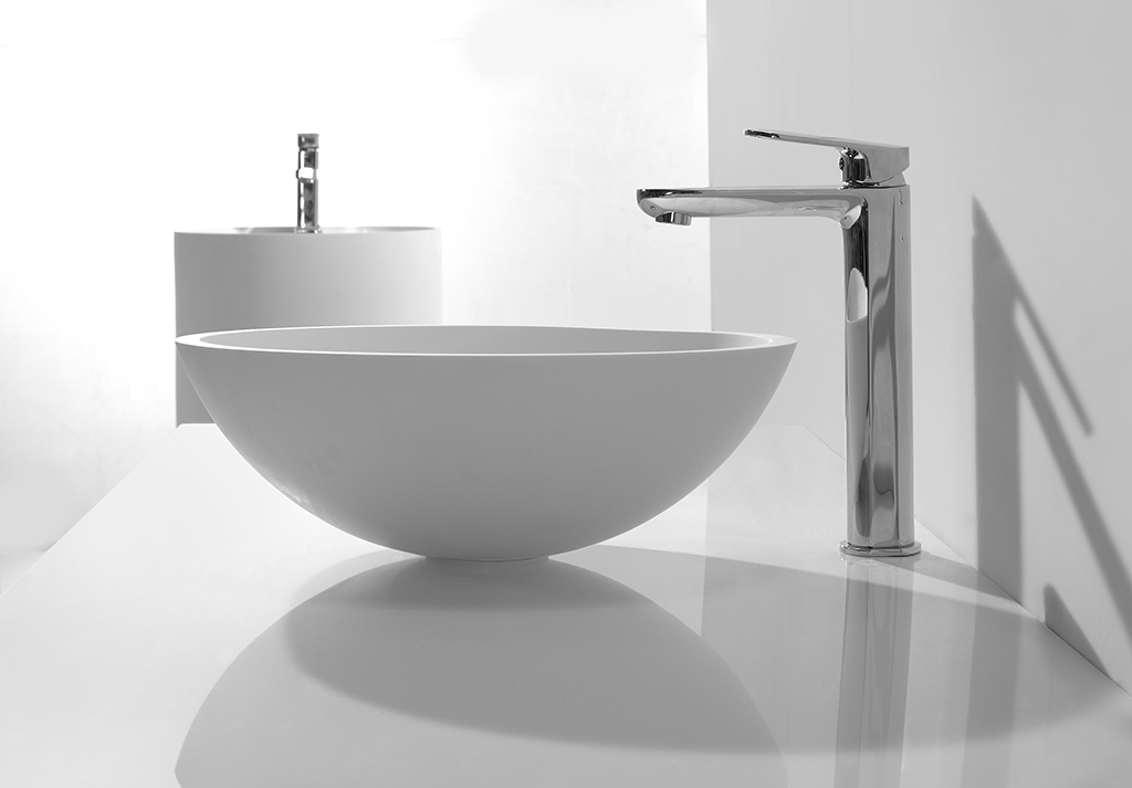thermoforming bathroom countertops and sinks customized for home-1