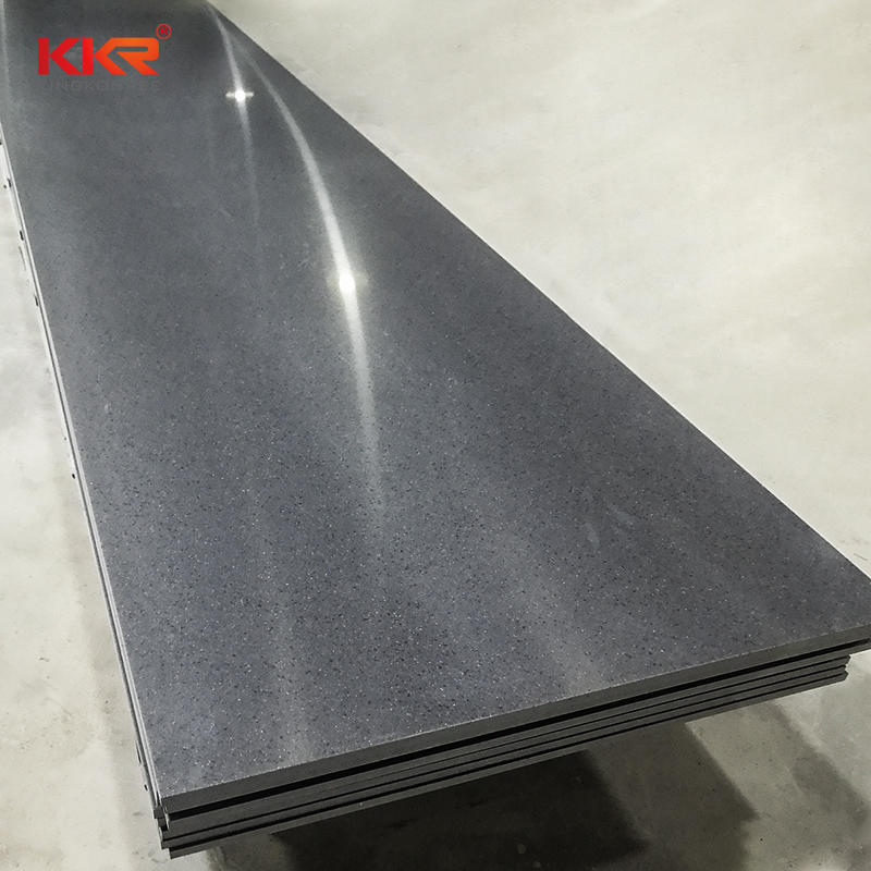 Sparkle Acrylic Stone Modified Solid Surface Sheet KKR-1637
