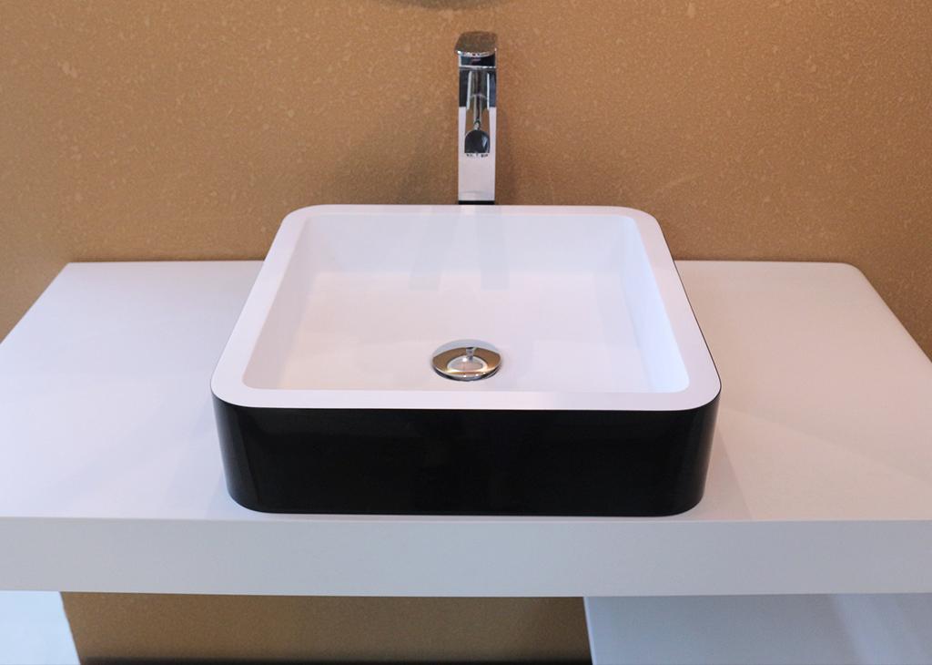 KingKonree sanitary ware above counter basins at discount for home-1