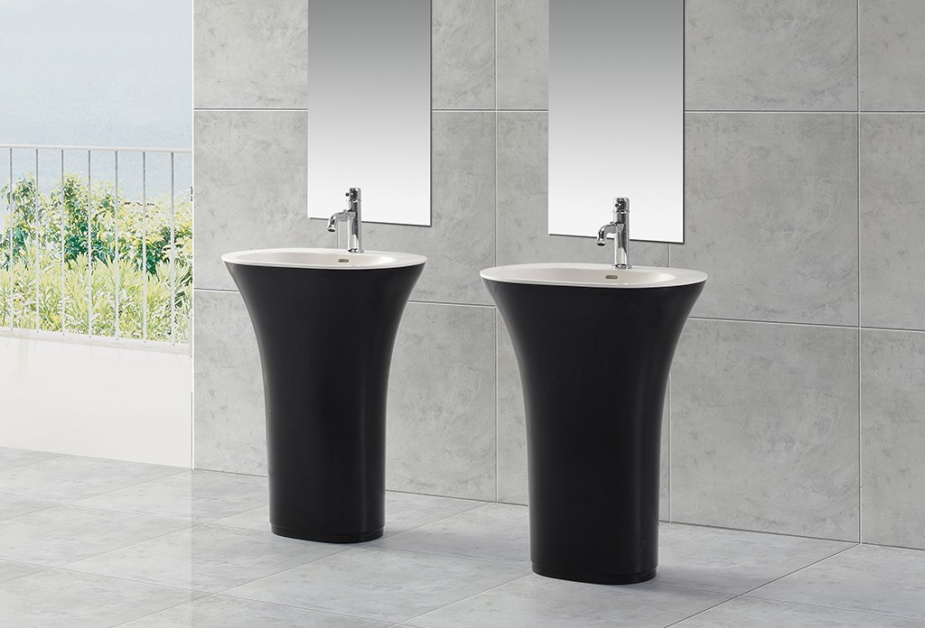KingKonree acrylic freestanding basin supplier for motel-1