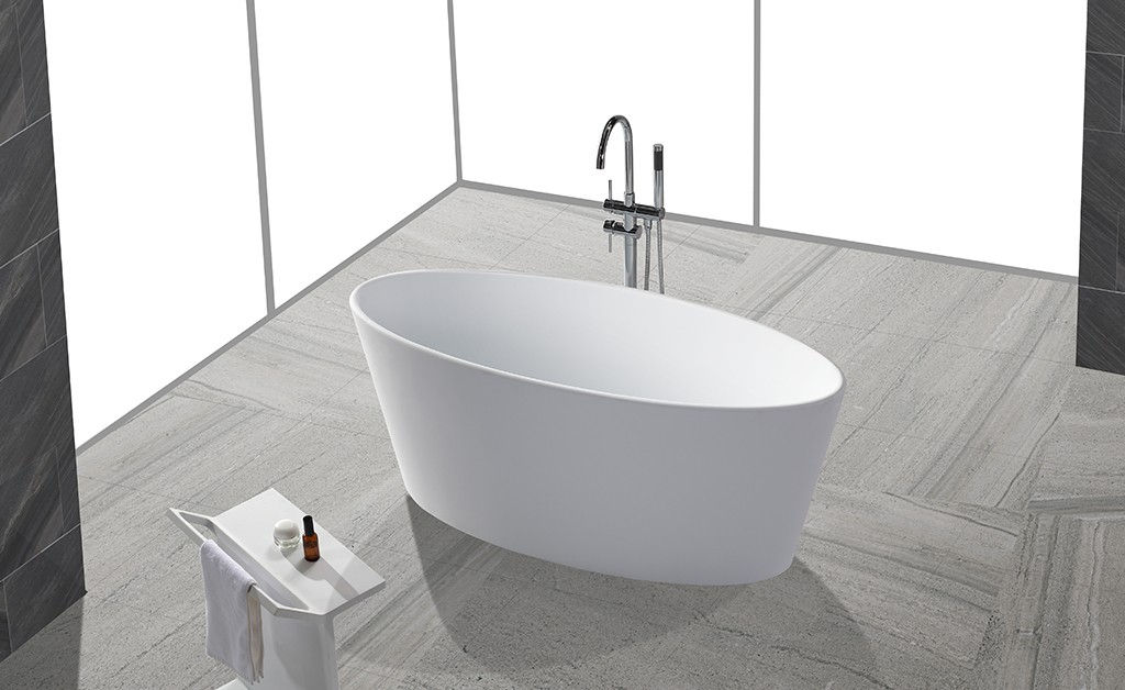 KingKonree freestanding soaking bathtub OEM for bathroom-1