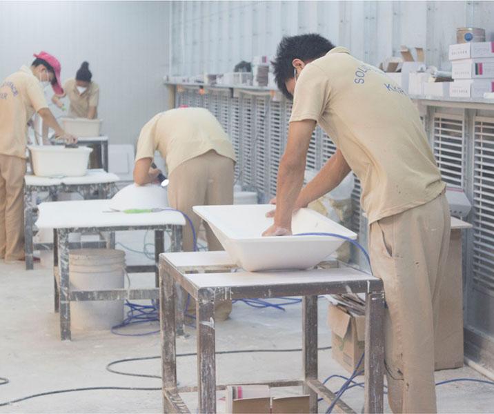 KingKonree rectangular wash basin manufacturer for motel-16