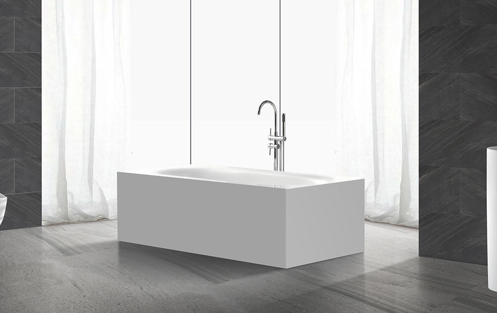 KingKonree on-sale solid surface freestanding tub at discount for bathroom