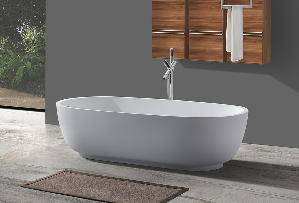 KingKonree modern freestanding tub at discount for bathroom-1